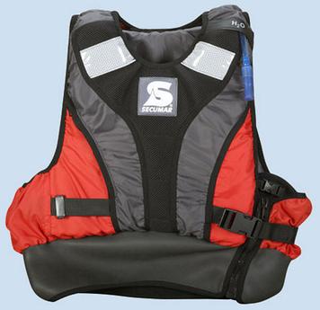 Спасательный жилет Secumar Jump racer, S, 40-70 кг, Класс: EN393, Плавучесть: 50N, Цвет: Разноцветный