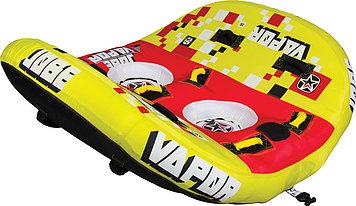 Буксируемый водный аттракцион плюшка Jobe Vapor 2P, Кол-во мест: 2, 8 мягких ручек из EVA, Безопасность на вод