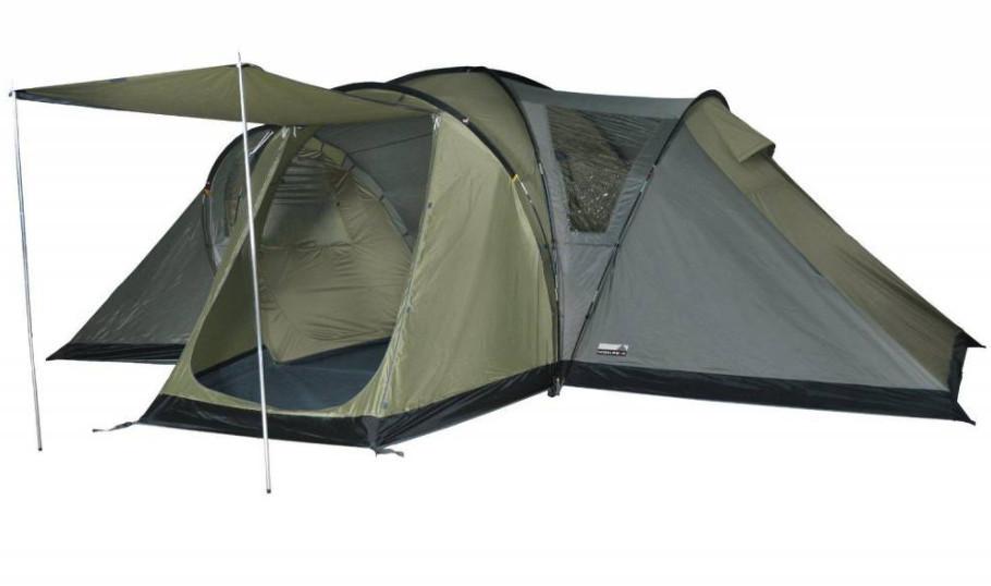 Палатка кемпинговая High Peak Sorrento 6, Кол-во человек: 6, Входов/комнат: 1/2, Тамбуров: 1, Внутренняя палат