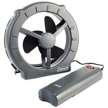 Вентилятор Coleman Zephyr  Window Fan, Режимы: 2 скоростных режима, Цвет: Серый, Упаковка: Розничная, (2000016