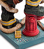 Статуэтка декоративная Forchino Пожарный, Высота: 220 мм, Материал: Полистоун, Цвет: Разноцветный, (FO84010), фото 3