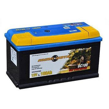Аккумулятор необслуживаемый Minn Kota MK-SCS100 (12V 100 Ah), Емкость аккумулятора: 100 Ah