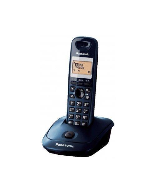 Радиотелефон DECT Panasonic KX-TG2511 CAT, 50 контактов, АОН: Есть, Ресурс: 550 мАч, время зарядки - до 7 ч, Р