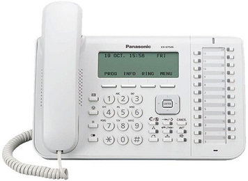 Системный телефон iP Panasonic KX-NT546 RU, Цвет: Белый