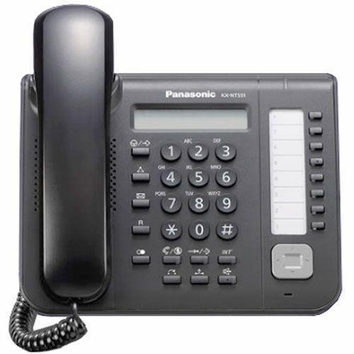 Системный телефон цифровой Panasonic KX-NT551, Цвет: Белый