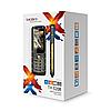 Телефон сотовый кнопочный Texet TM-520R, Класс защиты IPX: IP67, Кол-во слотов SIM: 2, Цвет: Чёрный, фото 2