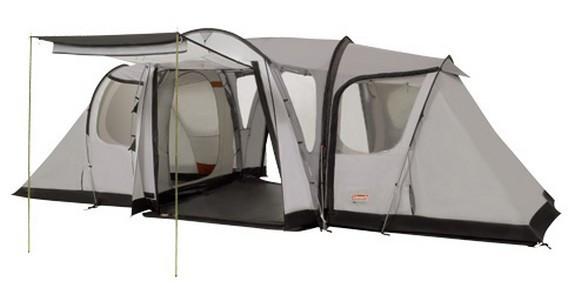 Палатка кемпинговая Coleman Modulus X5, Кол-во человек: 5, Входов/комнат: 2/2, Тамбуров: 1, Внутренняя палатка