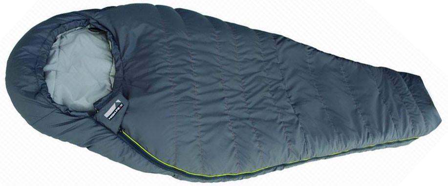 Спальный мешок трекинговый, кемпинговый High Peak SYNERGY 1500L, Форм-фактор: Кокон, Мест: 1, t°(комфорта): +2