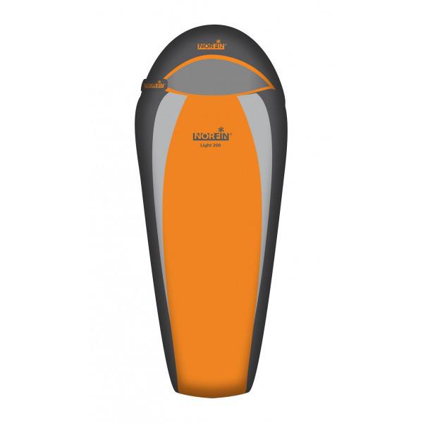 Спальный мешок трекинговый Norfin Light 200 Sport, Форм-фактор: Кокон, Мест: 1 , Молния справа, t°(комфорта):
