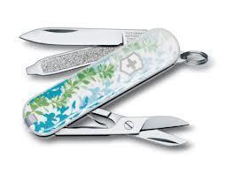 Нож складной карманный Victorinox Breeze of Nature, Функционал: Туризм, Кол-во функций: 7 в 1, Цвет: Разноцвет