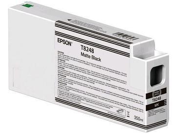 Картридж Epson C13T824800 (№T8248), Объем: 350 мл, Цвет: Чёрный для матовых носителей, Совместимость: SureColo