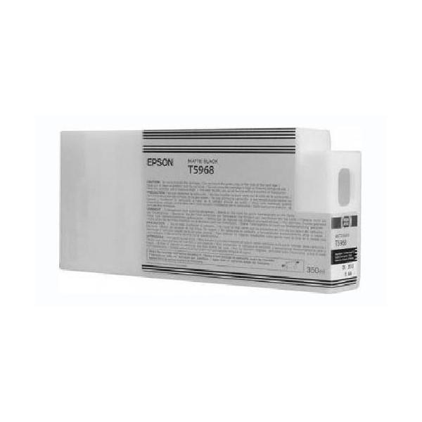 Картридж Epson C13T596800 (№T5968), Объем: 350 мл, Цвет: Чёрный матовый, Совместимость: Stylus Pro 7700, 7890,