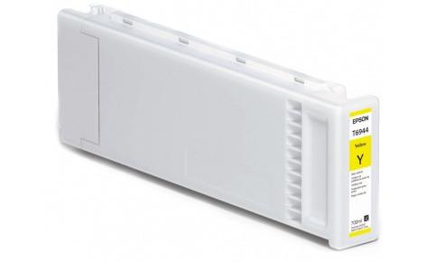 Картридж Epson C13T694400 (№T6944), Объем: 700 мл, Цвет: Жёлтый, Совместимость: SureColor SC-T3000, SC-T3200,