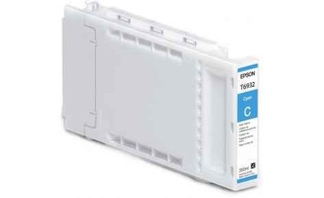 Картридж Epson C13T693200 (№T6932), Объем: 350 мл, Цвет: Голубой, Совместимость: SureColor SC-T3000, SC-T3200,
