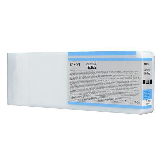 Картридж Epson C13T636500 (№T6365), Объем: 700 мл, Цвет: Светло-голубой, Совместимость: Stylus Pro 7700, 7890,