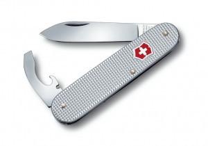 Нож складной офицерский Victorinox Bantam, Кол-во функций: 8 в 1, Цвет: Серебристый, (0.2300.26 )