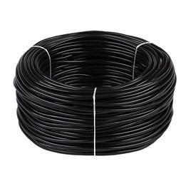 Провод влагонепроницаемый 6 кв.мм, Цвет: Чёрный