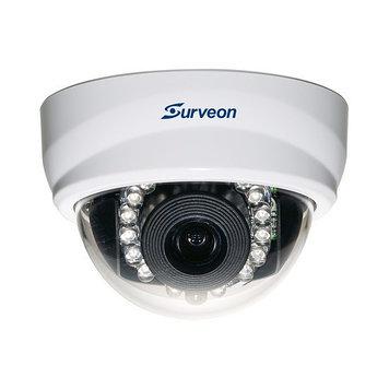Камера IP поворотная Surveon CAM5321S4, Разрешение: 2 Mpi dpi, Тип объектива: фиксиронанный, f=4 мм, Цвет: Бел