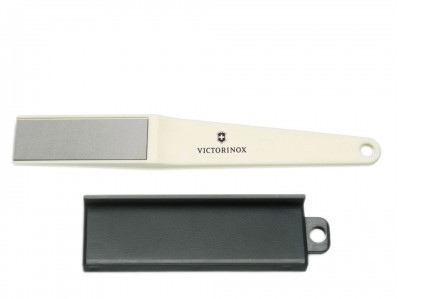 Точило для ножа Victorinox Diamond, Материал: Пластик, металл, Крепление: Кольцо, Цвет: Белый, (7.8725)