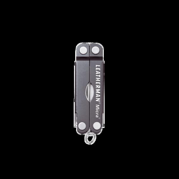 Мультитул брелок Leatherman Micra, Кол-во функций: 10 в 1, Цвет: Серый, (MICRA)