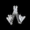 Мультитул брелок Leatherman Micra, Кол-во функций: 10 в 1, Цвет: Серый, (MICRA), фото 2