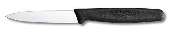 Нож кухонный Victorinox Paring Knife Pointed, Общая длина: 188  мм, Длина клинка: 80 мм, Материал клинка: Нерж