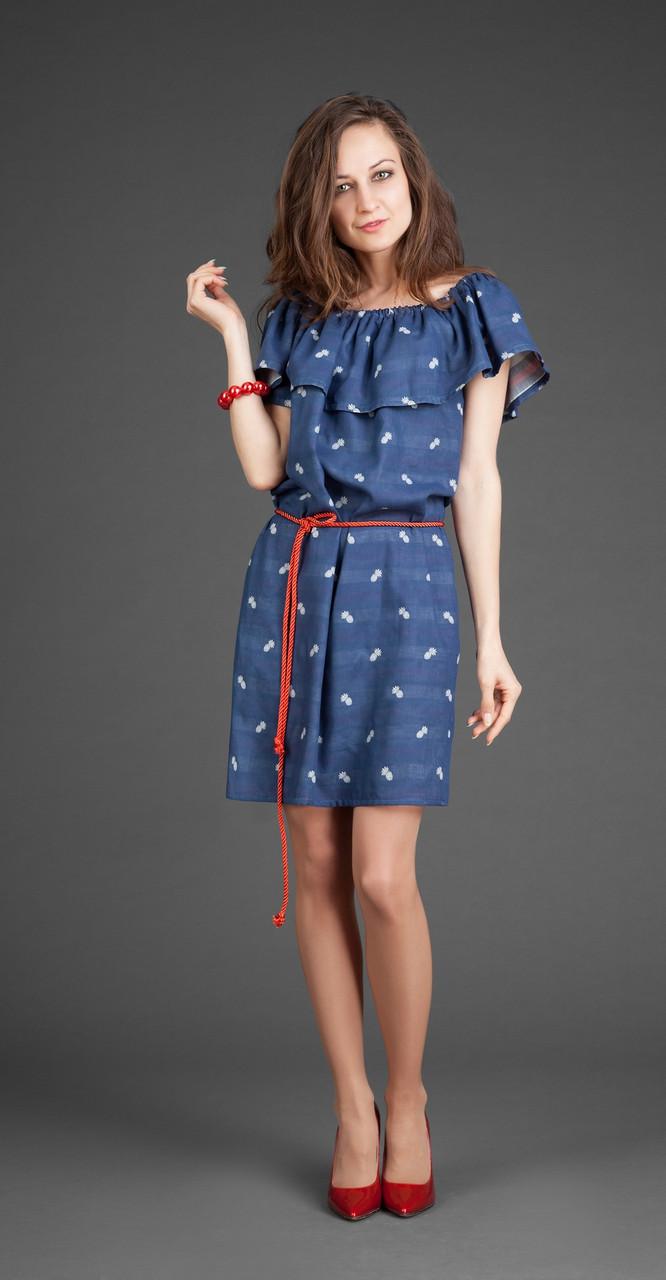 Платье ElPaiz-247, синий, 42