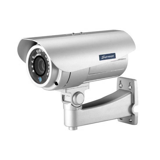 Камера IP цилиндрическая Surveon CAM3371, Разрешение: 2 Mpi dpi, Тип объектива: автофокус f=3 - 9 мм, Цвет: Бе