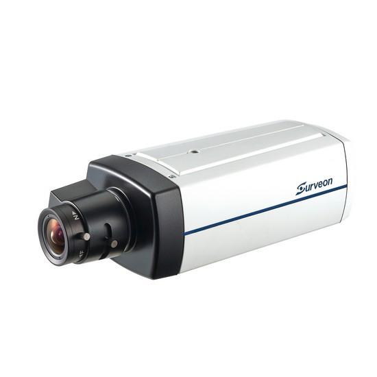 Камера IP классическая Surveon CAM2441P, Разрешение: 3 Mpi dpi, Тип объектива: сменный, f=3.1 - 8 мм P-Iris (C