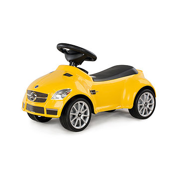 Толокар Rastar Mercedes SLK 55 AMG, Цвет: Жёлтый, Упаковка: Коробка, (82300Y)