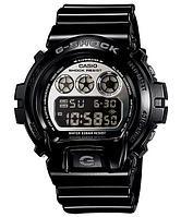 Часы электронные наручные мужские Casio G-SHOCK DW-6900NB-1DR, Механизм: Кварц, Браслет: Ремешок из полимерног