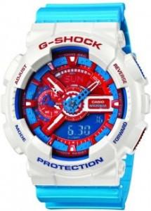 Часы электронные наручные мужские Casio G-SHOCK GA-110AC-7ADR, Механизм: Кварц, Браслет: Ремешок из полимерног
