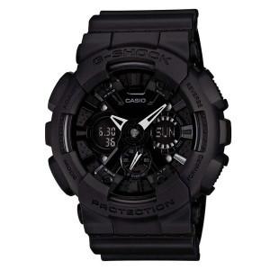 Часы электронные наручные мужские Casio G-SHOCK GA-120BB-1AER, Механизм: Кварц, Браслет: Ремешок из полимерног