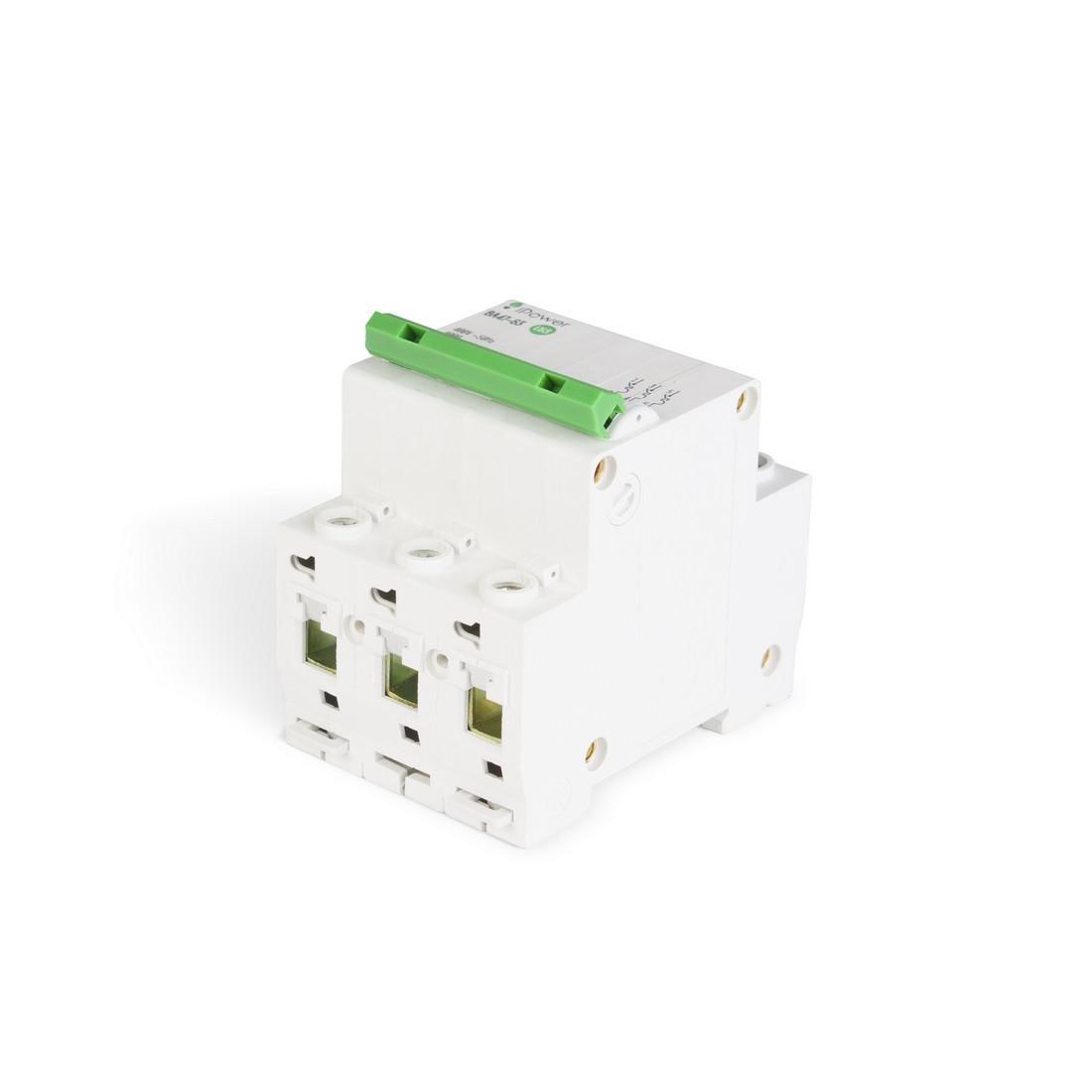 Автоматический выключатель реечный iPower ВА47-63 3P 20А, 230/400 В, Кол-во полюсов: 3, Предел отключения: 4,5