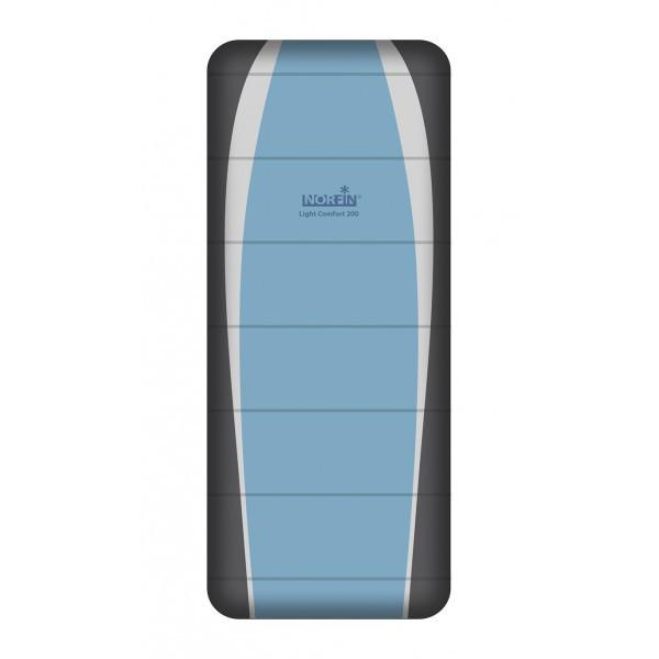Спальный мешок трекинговый Norfin Light Comfort 200 Family, Форм-фактор: Одеяло, Мест: 1 , Молния справа, t°(к