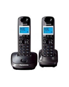 Радиотелефон DECT Panasonic KX-TG2512 CAT, 50 контактов, АОН: Есть, Ресурс: 550 мАч, время зарядки - до 6 ч, Р