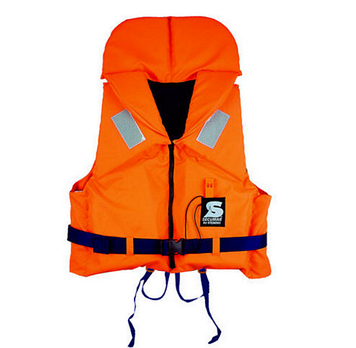 Спасательный жилет Secumar Bravo, 50-70 кг, Класс: EN395, Плавучесть: 100N, Цвет: Оранжево-синий, (11675)