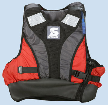 Спасательный жилет Secumar Jump racer, M, 60-100 кг, Класс: EN393, Плавучесть: 50N, Цвет: Разноцветный