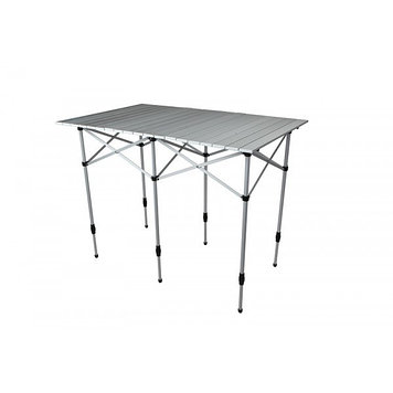 Стол складной Norfin Glomma-M, Материал: Алюминий, 30 кг, Цвет: Серебристый, Упаковка: Коробка, (NF-20303)