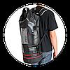 Сумка водонепроницаемая LaPlaya Dry Bag Cylinder, 50 л, Цвет: Чёрный, (800301), фото 4