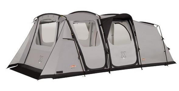 Палатка кемпинговая Coleman Weathermaster XL, Кол-во человек: 6, Входов/комнат: 3/3, Тамбуров: 2, Внутренняя п
