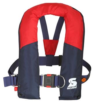 Спасательный жилет Secumar Arcona harness, Более 50 кг, Класс: EN396, Плавучесть: 220N, Цвет: Красно-синий, (1