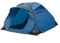 Палатка кемпинговая High Peak Hyperdome 3, Кол-во человек: 3, Входов/комнат: 1/1, Тамбуров: Нет, Внутренняя па