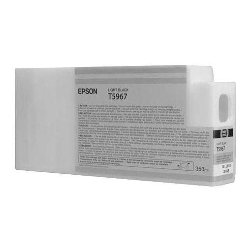 Картридж Epson C13T596700 (№T5967), Объем: 350 мл, Цвет: Серый, Совместимость: Stylus Pro 7700, 7890, 7900, 97