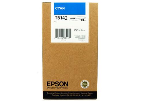 Картридж Epson C13T613200 (№T6132), Объем: 110 мл, Цвет: Голубой, Совместимость: Stylus Pro 4400, 4450