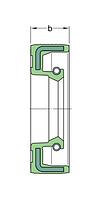 8X12X3 HM4 R манжетное уплотнение SKF