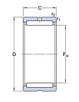 RN 5X49.8   игольчатый ролик SKF