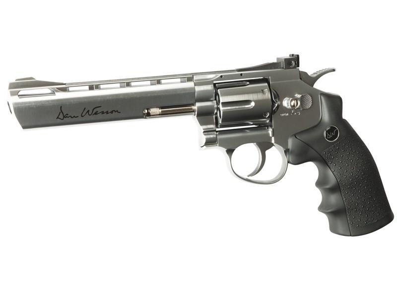 """Револьвер для страйкбола ASG Dan Wesson 6"""", Калибр: 4,5 мм (.177, BB), Дульная энергия:  1,9 Дж, Ёмкость магаз"""