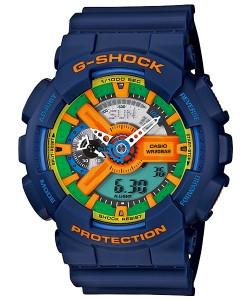 Часы электронные наручные мужские Casio G-SHOCK GA-110FC-2ADR, Механизм: Кварц, Браслет: Ремешок из полимерног