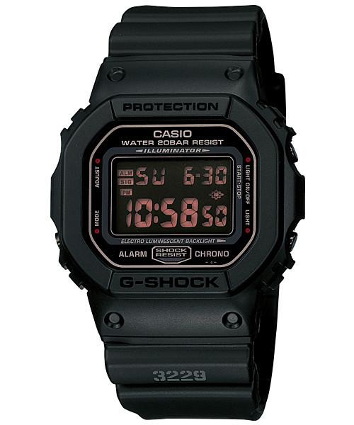 Часы электронные наручные мужские Casio G-SHOCK DW-5600MS-1DR, Механизм: Кварц, Браслет: Ремешок из полимерног